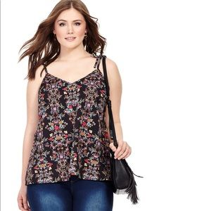 City Chic Floral Cami
